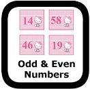 odd and even numbers 00