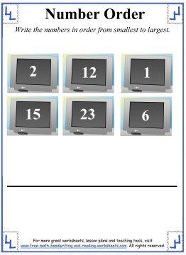 ordering numbers 6