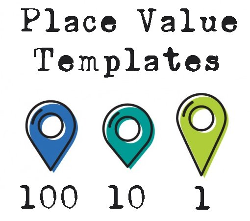 Place Value Charts Practice Templates