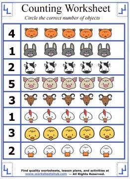 preschool counting 6