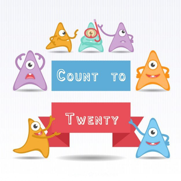 Preschool Counting:Count To 20