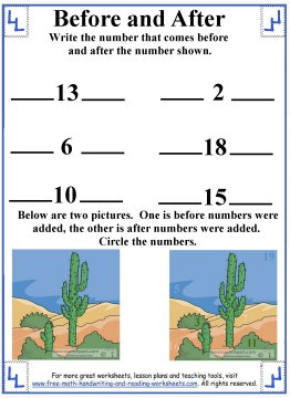 preschool counting 3
