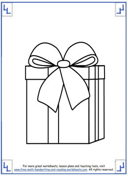 printable christmas coloring pages 1