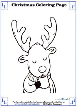 printable christmas coloring pages 11