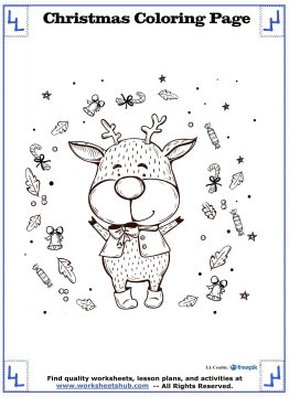 printable christmas coloring pages 12