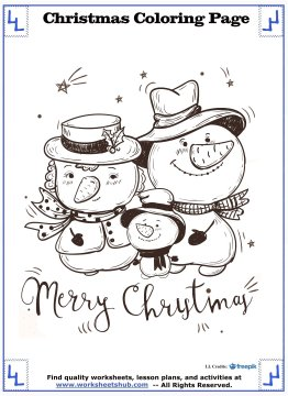printable christmas coloring pages 14
