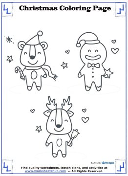 printable christmas coloring pages 17