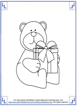 printable christmas coloring pages 8