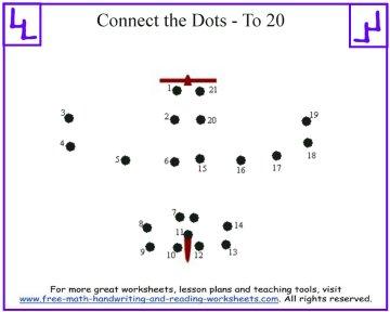 printable dot to dot 1