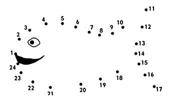 printable dot to dot