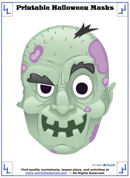 printable halloween masks 1
