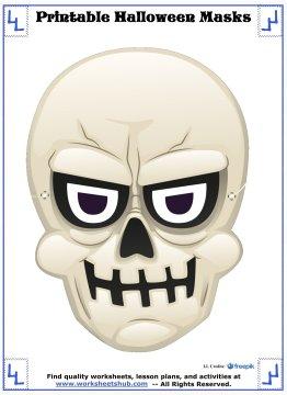 printable halloween masks 3