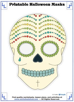 printable halloween masks 9