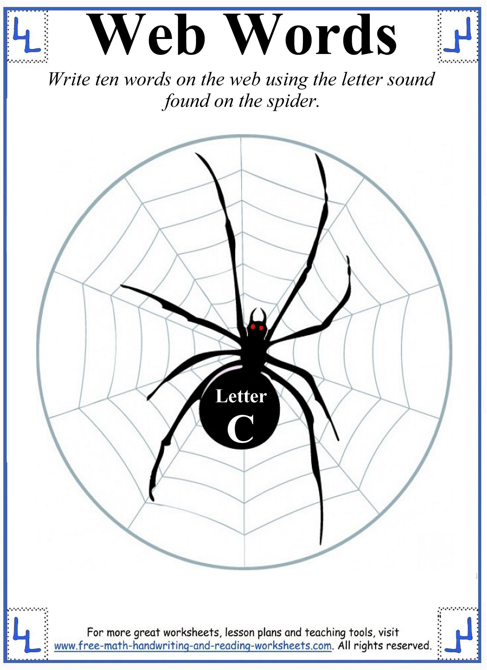 printable letter c 6