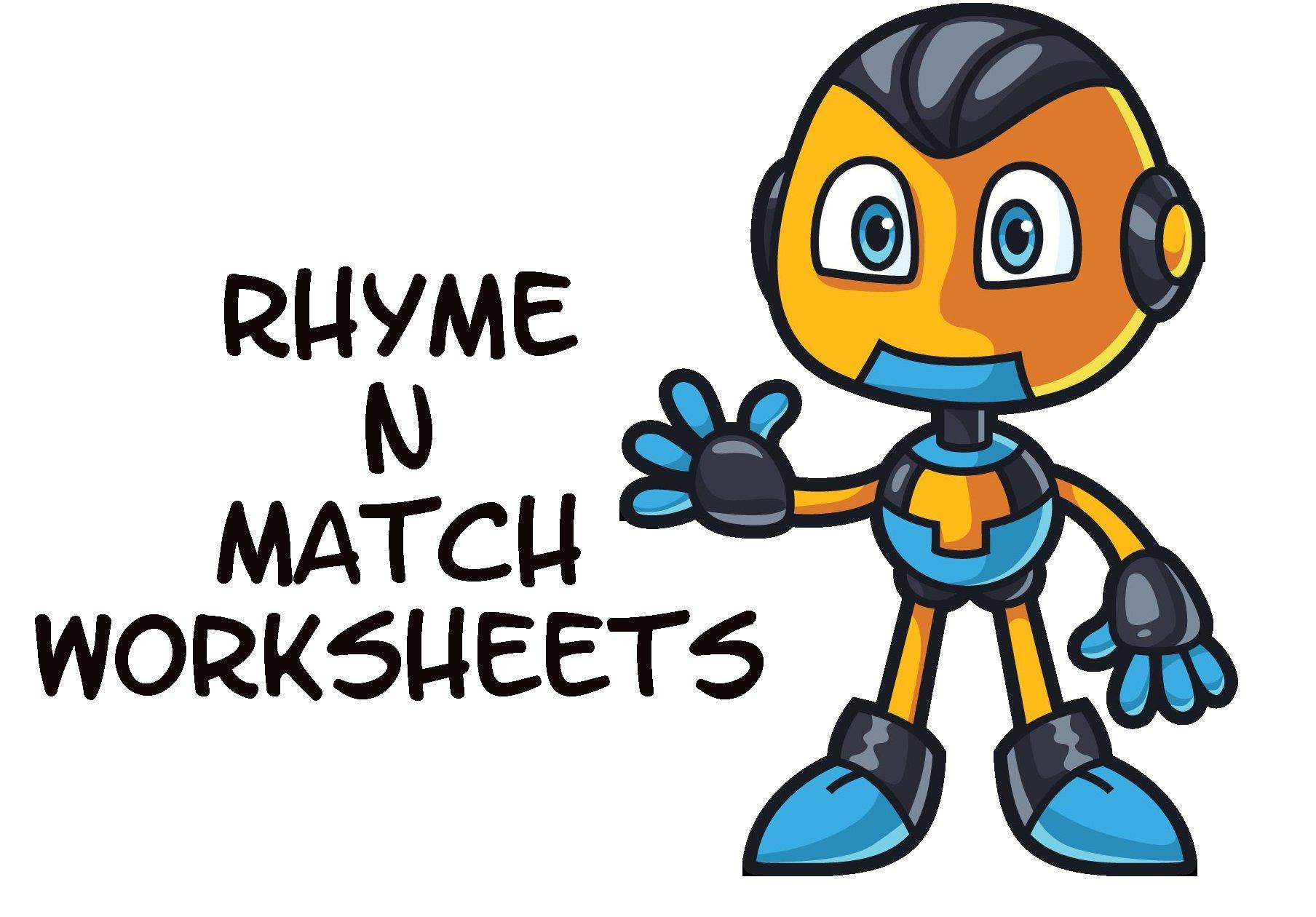 rhyming words worksheets 00