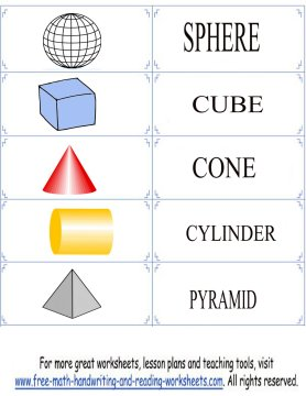 shape flashcards 6