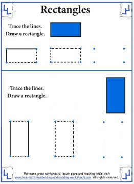 shape worksheets 1