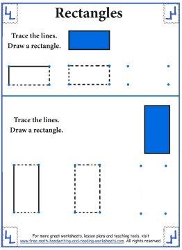 shape worksheets 1