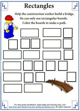 shape worksheets 4
