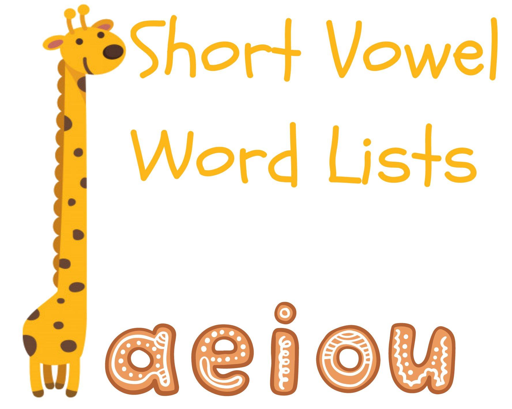 short vowel sound