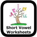 short vowel worksheets
