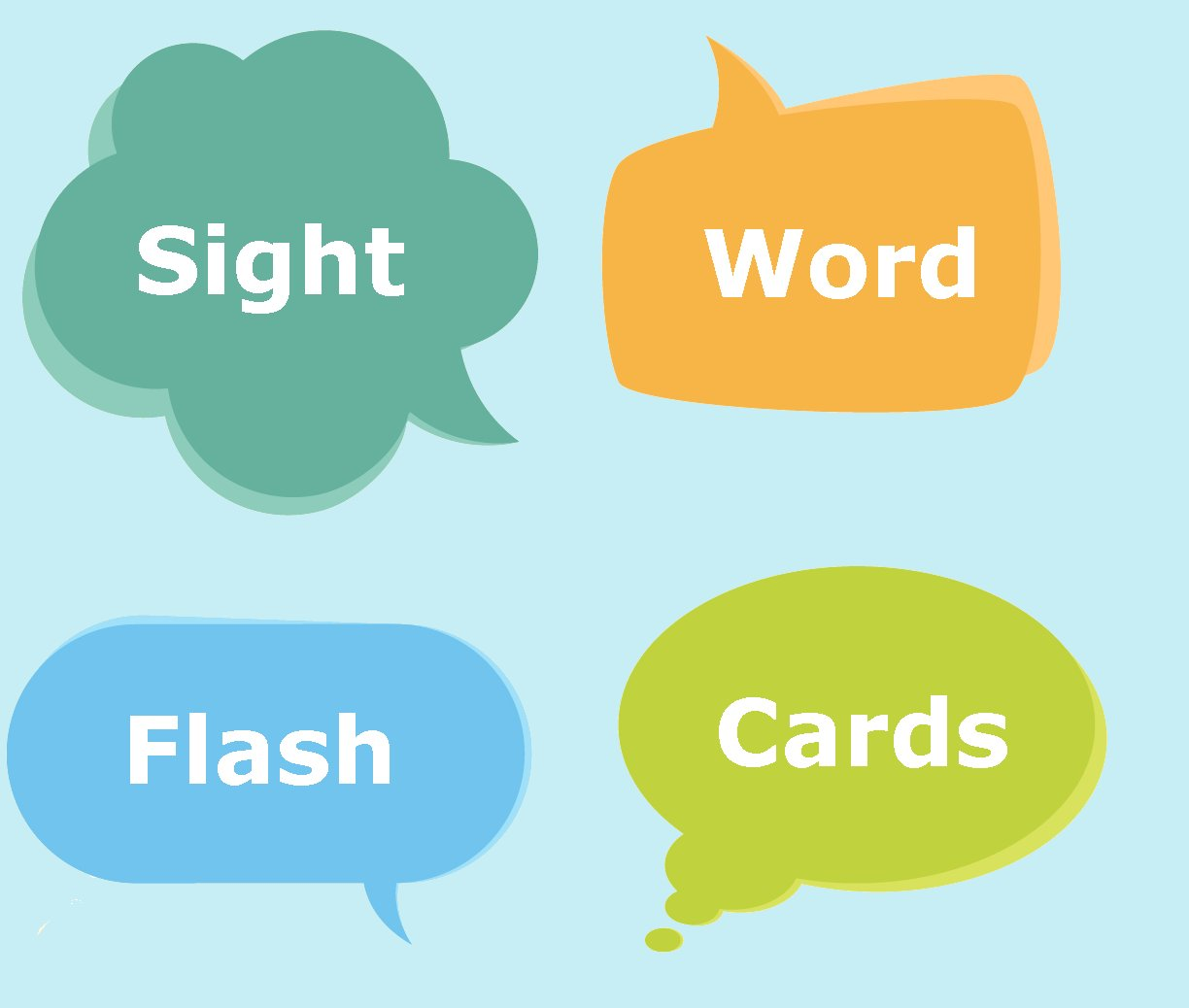Sight Words Flash Cards - Printable Flashcards