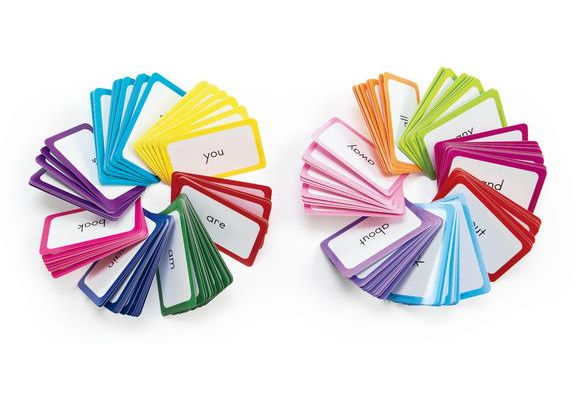 sight words flash cards set