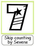 skip counting by sevens