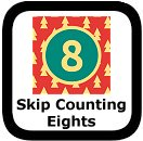 skip counting 8s 00