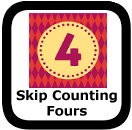 skip counting by fours 00