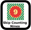 skip counting by nines