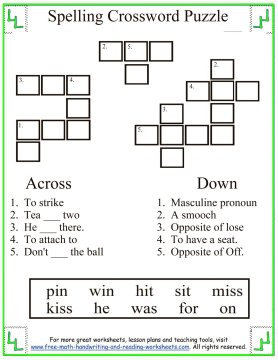 Find more First Grade worksheets covering math, spelling words, and ...