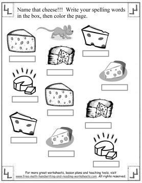 Number Names Worksheets free spelling worksheet : Spelling First Grade Words: Short I