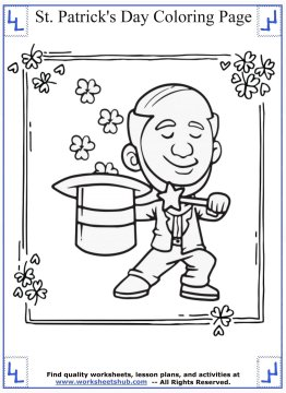 st patricks day coloring pages 01