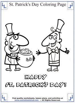 st patricks day coloring pages 010