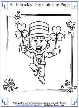 st patricks day coloring pages 02