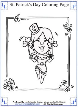 st patricks day coloring pages 03