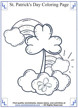 st patricks day coloring pages 04
