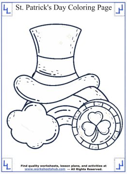 st patricks day coloring pages 05