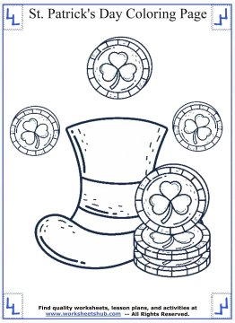 st patricks day coloring pages 06
