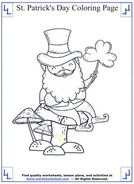 st patricks day coloring pages 07