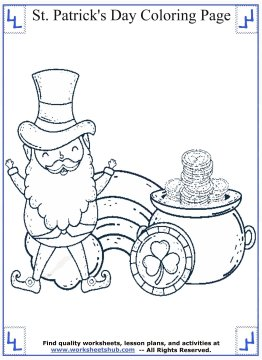 st patricks day coloring pages 08