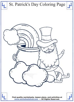 st patricks day coloring pages 09