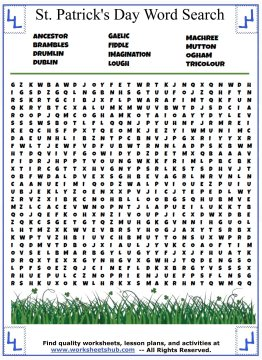 st patricks day word search 06