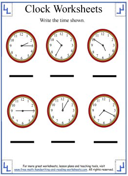 To review previous lessons on telling time or to review skip counting ...