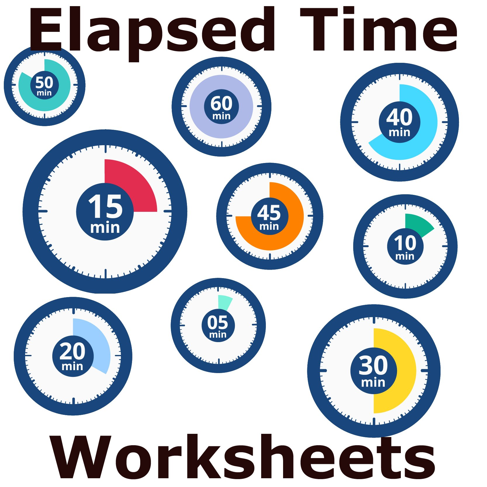 Telling Time Worksheet - Elapsed Time