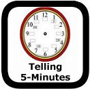 telling time by fives worksheets