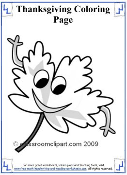 thanksgiving coloring page 11
