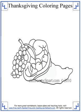 thanksgiving coloring page 5