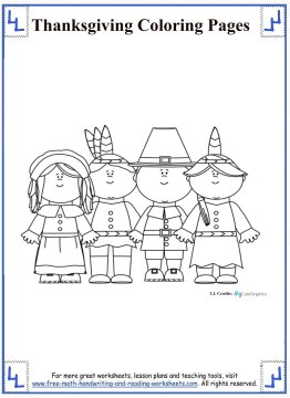 thanksgiving coloring pages 8